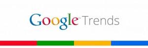 Googleトレンド による 比較