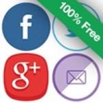 Social Media and Share Icons (Ultimate Social Media) アイコン