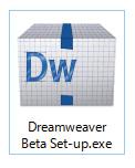 Dreamweaver-Beta4 setup.exe