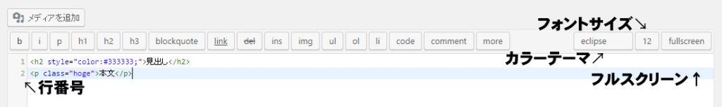 HTML Editor Syntax Highlighter 実装