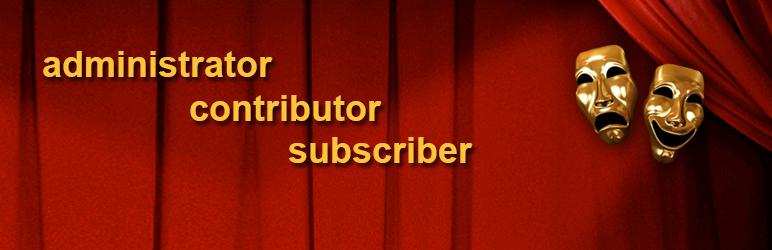 User Role Editor メインビジュアル