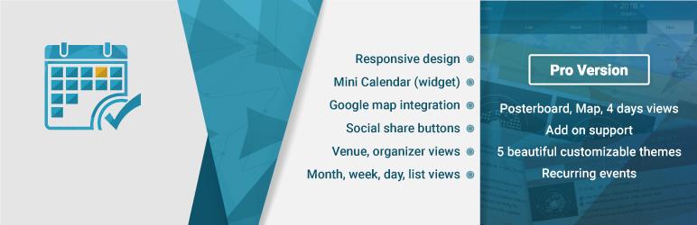 Event Calendar WD – Responsive Event Calendar plugin メインビジュアル