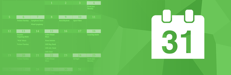 Simple Calendar – Google Calendar Plugin メインビジュアル