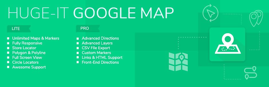 Google Maps – Google Maps Builder メインビジュアル