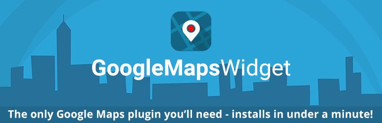 Google Maps Widget メインビジュアル
