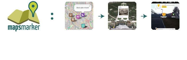 Leaflet Maps Marker メインビジュアル