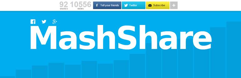 Social Media Share Buttons   MashShare メインビジュアル