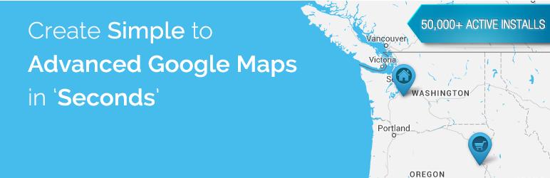 WP Google Map Plugin メインビジュアル