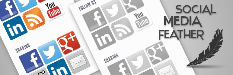 Social Media Feather   social media sharing メインビジュアル